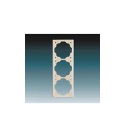 ABB Rámeček pro elektroinstalační přístroje, trojnásobný slonová kost 1754-0-4314