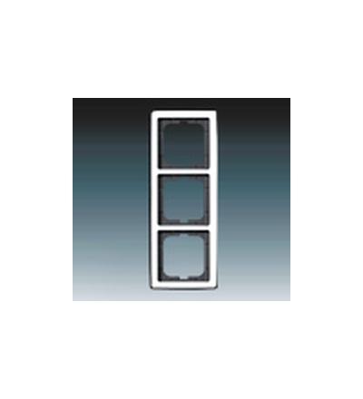 ABB Rámeček pro elektroinstalační přístroje, trojnásobný chromová lesklá 1754-0-4328
