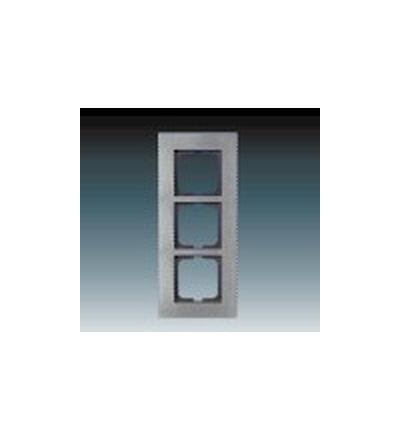 ABB Rámeček pro elektroinstalační přístroje, trojnásobný bronz 1754-0-4260