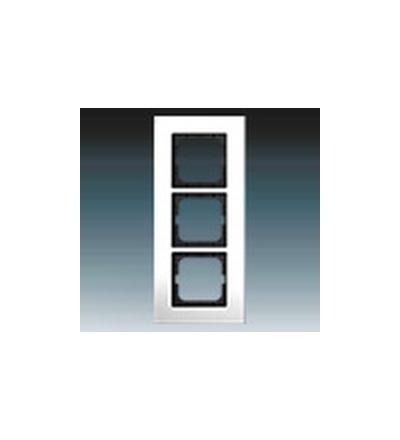 ABB Rámeček pro elektroinstalační přístroje, trojnásobný chromovaná mosaz 1754-0-4362