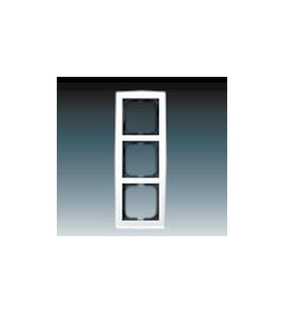 ABB Rámeček pro elektroinstalační přístroje, trojnásobný studio bílá 1754-0-4111