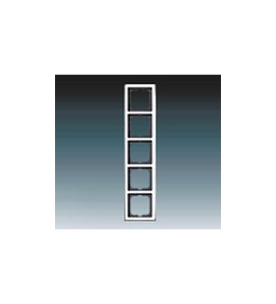ABB Rámeček pětinásobný, pro vodorovnou i svislou montáž 2CKA001754A4330