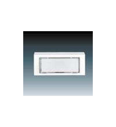 ABB Ovládač zapínací zvonkový jednonásobný bílá 3171-80114
