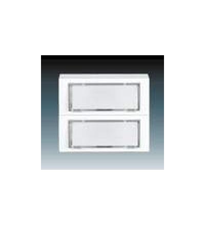 ABB Ovládač zapínací zvonkový dvojnásobný bílá 3171-80124