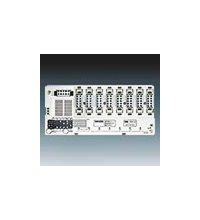 ABB Přijímač radiofrekvenčního (RF) signálu osmikanálový, spínací, vestavný bezšroubové svorky 3299-83338