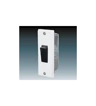 ABB Přepínač střídavý zárubňový bílá 3555-06428
