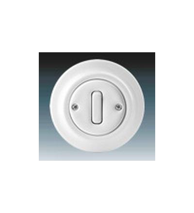 ABB Přepínač střídavý bílá 3559K-C06345