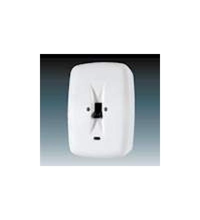 ABB Přípojka sporáková se signalizační doutnavkou, nástěnná bílá 39563-13