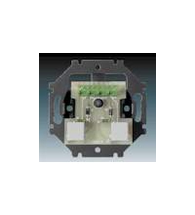 ABB Přístroj zásuvky telefonní dvojnásobné 5013U-A00105