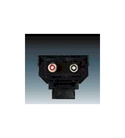 ABB Maska nosná se zásuvkami CINCH 5014A-A2206