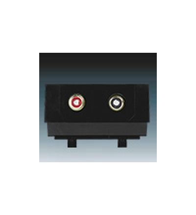 ABB Maska nosná se zásuvkami CINCH 5014M-A02206