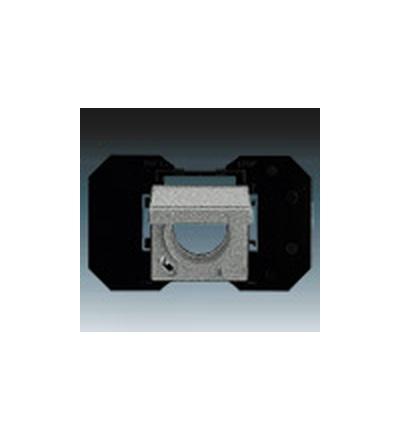 ABB Zásuvka centrálního vysávání metalická šedá 5530B-A67107803