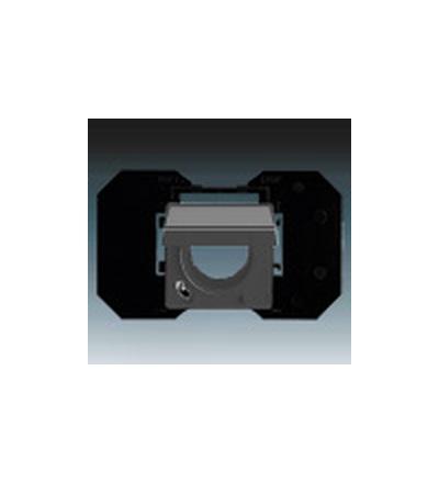 ABB Zásuvka centrálního vysávání antracitová 5530B-A6710781