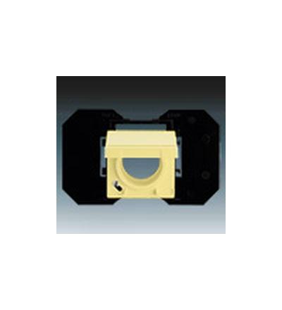 ABB Zásuvka centrálního vysávání žlutá 5530B-A67107815