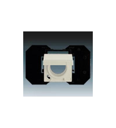 ABB Zásuvka centrálního vysávání slonová kost 5530B-A6710782