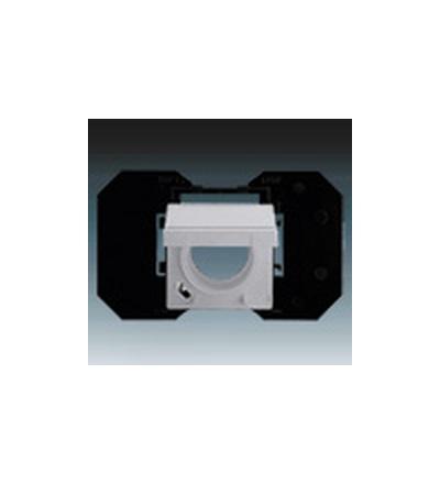 ABB Zásuvka centrálního vysávání hliníková stříbrná 5530B-A6710783