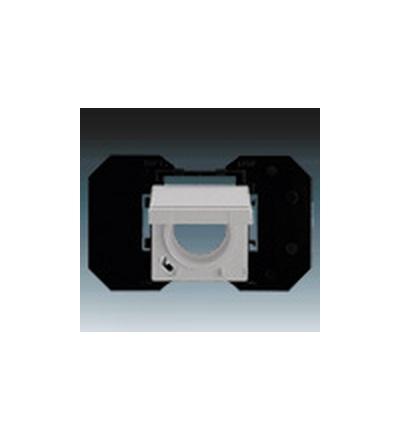 ABB Zásuvka centrálního vysávání ušlechtilá ocel 5530B-A67107866