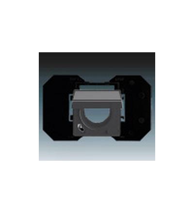 ABB Zásuvka centrálního vysávání mechová černá 5530B-A67107885