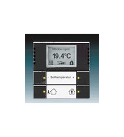 ABB Snímač teploty s regulátorem antracitová 6134-0-0295