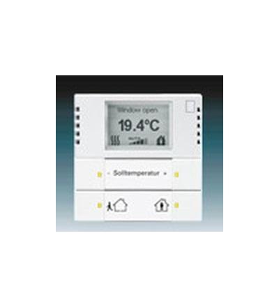 ABB Snímač teploty s regulátorem studio bílá 6134-0-0248