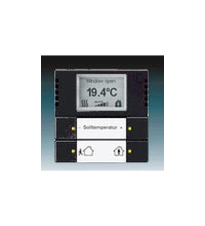 ABB Snímač teploty s regulátorem mechová černá 6134-0-0283