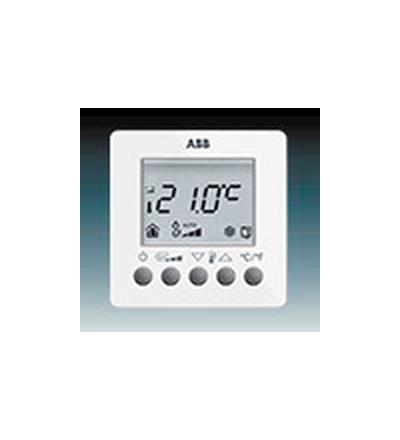 ABB Termostat prostorový pro fan-coily, nástěnný studio bílá 6138-0-0003