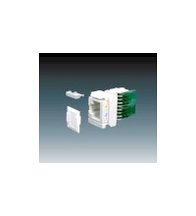 ABB Přístroj zásuvky datové (R&De-Massari) Cat. 5e/u R302518