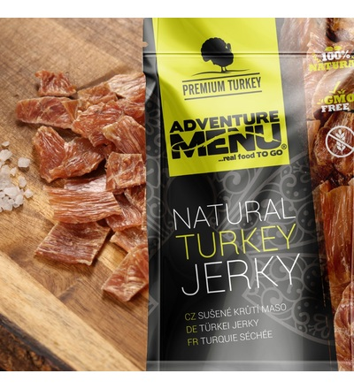 Adventure menu Krůtí jerky 25g