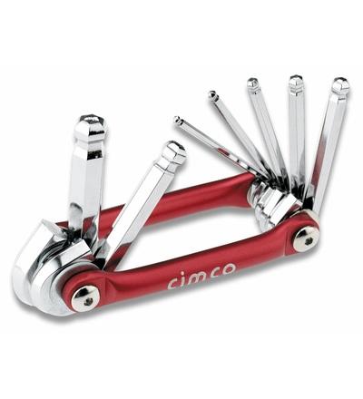 CIMCO Sada inbusových klíčů SW 2,5 - 10 mm (7 ks) 110596
