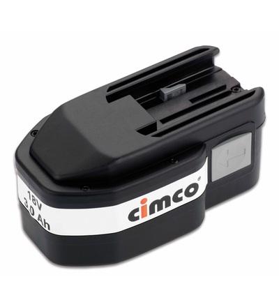 CIMCO Náhradní baterie 18 V 134014