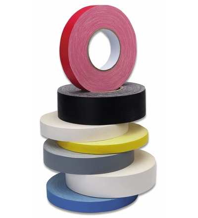 CIMCO Tkaná lepící páska žlutá 50 mm - 50 m 162054