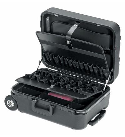 CIMCO Plastový kufr MEGA-WHEEL černý 170074