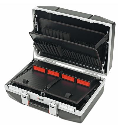 CIMCO Plastový kufr DIAMANT 25 černý 375x488x210 mm 178015