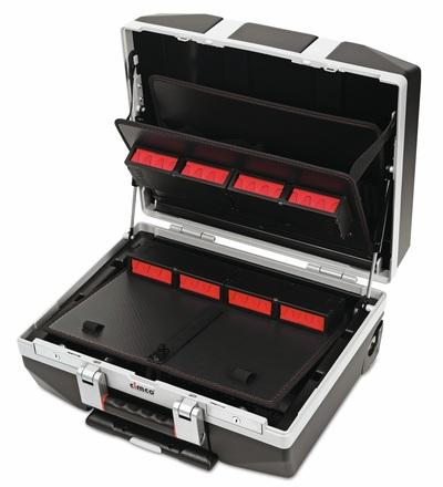 CIMCO Plastový kufr DIAMANT 45 černý 440x498x270 mm 178178