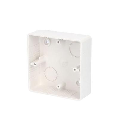 Krabice lištová KL 80x28, (hloubka 28mm), bílá, na omítku, ELEMAN 37
