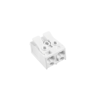 Svorkovnice SLK 3/2 (bez potisku) pro svítidla, bezšroubová, PC, bílá /88167620, ELEMAN 1000076