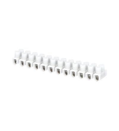 Svorkovnice instalační EKL 0 S, 12x1÷4mm2, T80, PP, bílá, povrch. uprav. ocel /88168193, ELEMAN 103