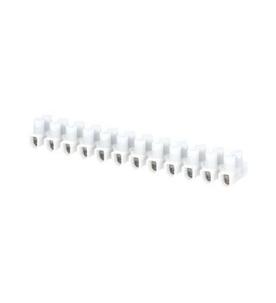 Svorkovnice instalační EKL 1 S, 12x1,5÷6mm2, T80, PP, bílá, povrch. upr. ocel /88168195, ELEMAN 104 (10 ks)
