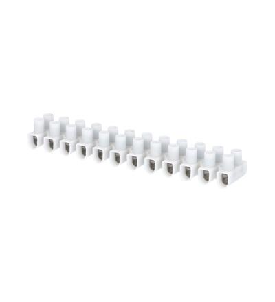 Svorkovnice instalační EKL 2 S, 12x2,5÷10mm2, T80, PP, bílá, povrch. uprav. ocel /88168197, ELEMAN 105 (10 ks)