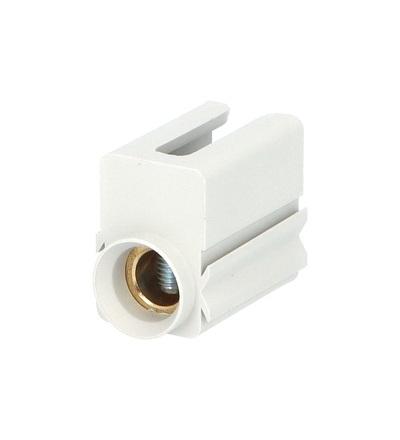 Svorka připojovací ES/35-S/G na fáz. lištu, krytá, 35mm2 / 2010902, vestavná šířka 20mm, ELEMAN 304 (10 ks)
