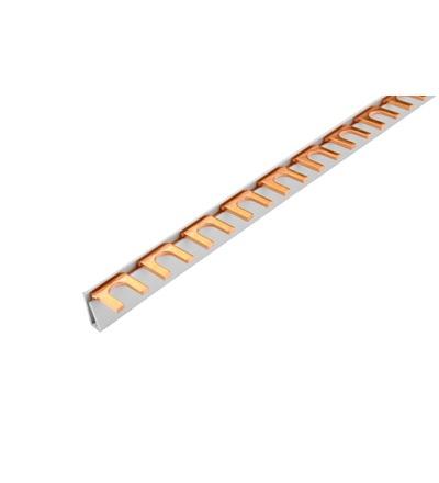 Prop. lišta G-1L-1000/20 ISO, vidlička, 1pól., 90A, rozteč 17,8mm, ELEMAN 1000331