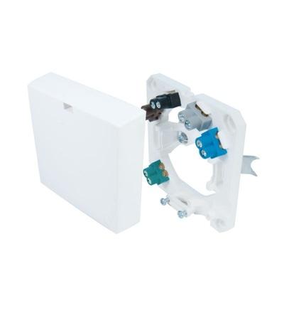 Krabice HAD 3, sporáková, svorkovnice 5x2,5mm2, zapuštěná montáž, bílá, IP20 /3040115, ELEMAN 332