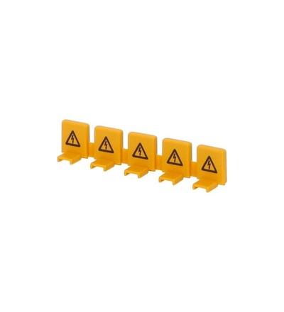 Krytka nezapojených kontaktů pro. lišty 5mod. - BS 5 TE /1310435, ELEMAN 1000356
