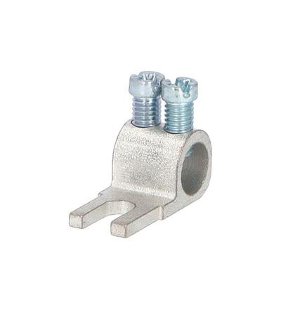 Svorka připojovací AS/35-K, vidlička, nekrytá, 35mm2, 100A / 2010302, ELEMAN 390 (50 ks)
