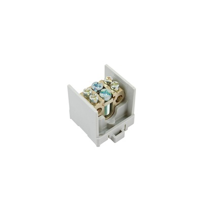 Svorkovnice stoupací HAK/1/35, nekrytá, 100A, 1pól., 1x35mm2 a 2x25mm2, na DIN, ELEMAN 1000518