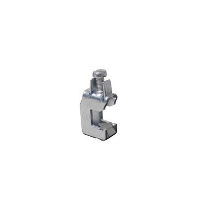 Svorka třmenová SK 16 F10 - pro měděné přípojnice výšky 10mm, 2,5-16mm2, ELEMAN 754 (100 ks)
