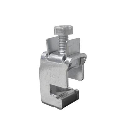 Svorka třmenová SK 185 F10 - pro měděné přípojnice výšky 10mm, 35-185mm2, ELEMAN 764 (20 ks)