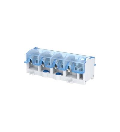 Svorkovnice stoupací OBL 25/16-4, krytá, na DIN/panel, 4pól., každý pól 1x 25mm2 a 4x16mm2, ELEMAN 1000872