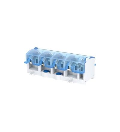 Svorkovnice stoupací OBL 35/25-4, krytá, na DIN/panel, 4pól., každý pól 1x 35mm2 a 4x25mm2, ELEMAN 1000874