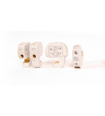 Svorka třmenová SSAK 16 FS 086105-0-4 (mosazná, krytá), ELEMAN 7370 (12 ks)